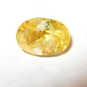 Batu Permata Yellow Sapphire Oval 1.45 carat