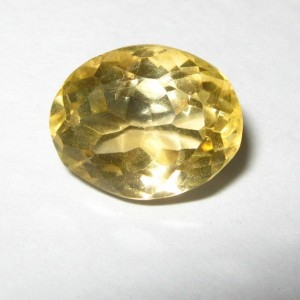 Light Yellow Citrine 4.55 carat
