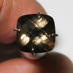 Cushion Smoky Quartz 1.35 carat