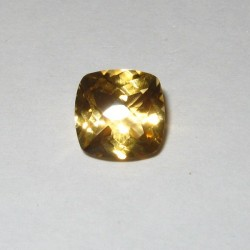 Cushion Buff Top Yellow Citrine 2.17 carat