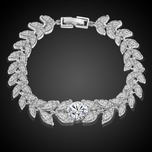 Gelang Gold Filled White Sapphire CZ