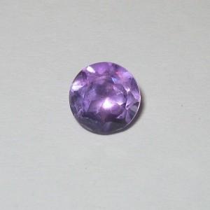 Round Violet Amethyst 1.40 carat