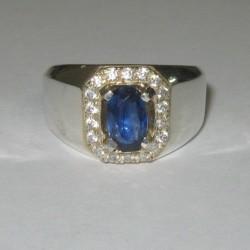 Cincin Safir Ceylon Ring 8US