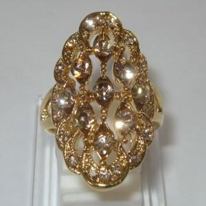 Cincin Etnis Gold Filled Ring 7.5US