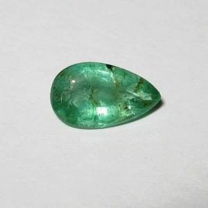Zamrud Hijau Pear Shape 1.11 carat