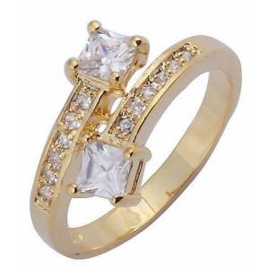 Cincin Model White Sapphire Ring 6
