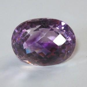 Oval Facet Purple Amethyst 14.87 carat