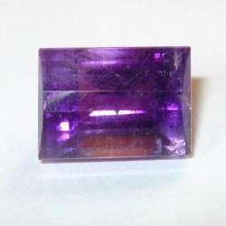 Rectangular Facet Purple Amethyst 8.28 carat