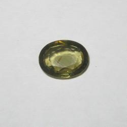 Batu Permata Orangy Green Zircon 2.49 carat