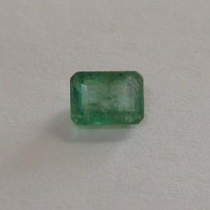 Rectangular Step Cut Emerald 0.71 carat