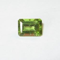 Peridot Bening Segi Empat 1.08 carat