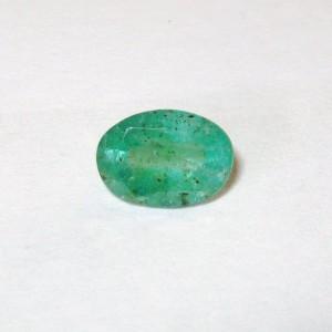 Oval Emerald 0.70 carat Zamrud Hijau Zambia
