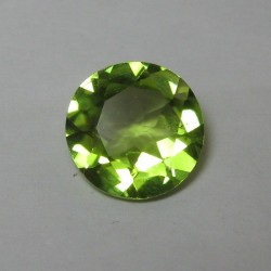 Round Green Peridot 1.87 carat
