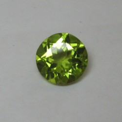 Peridot Round 8mm 2.03 carat
