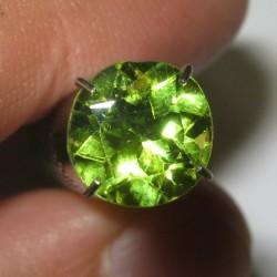 Batu Permata Peridot Round 1.95 carat