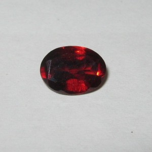 Batu Permata Red Garnet 1.45 carat Oval Cut