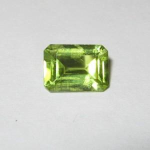 Rectangular Green Peridot 0.96 carat