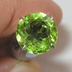 Peridot Round Cut 1.89 carat