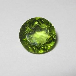 Round Peridot 7.5mm 1.68 carat