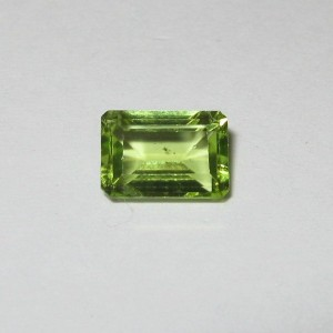 Rectangular Yellowish Peridot 0.98 carat