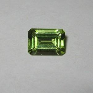 Peridot Segi Empat 0.96 carat