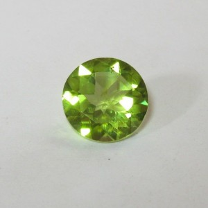 Peridot Round Yellowish Green 1.87 carat
