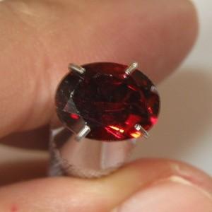 Pyrope Garnet Merah 1.40 carat