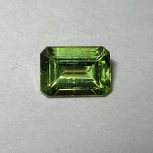 Rectangular Peridot Bening 1.09 carat