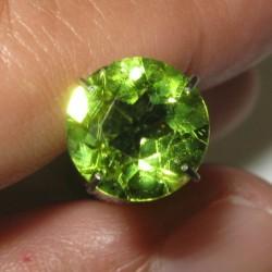 1.95 carat Peridot Round Cut