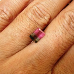 Bi Color Watermelon Tourmaline 1.32 carat