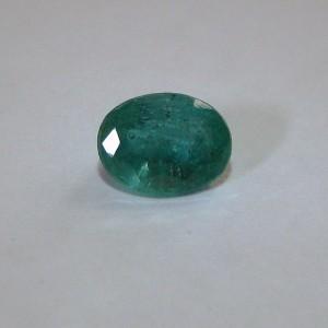 Zamrud Hijau Oval 1.05 carat