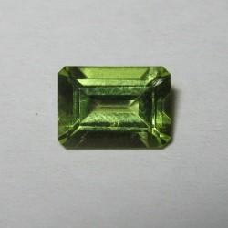 Rectangular Peridot 0.91 carat