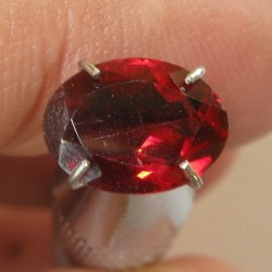 Oval Red Garnet Pyrope 1.51 carat
