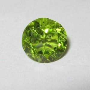 Batu Mulia Natural Green Peridot Round 1.94 carat