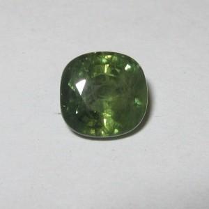 Cushion Green Sapphire 1.78 carat