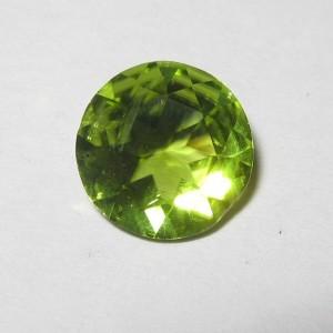 Batu Permata Round Cut Peridot 1.68 carat