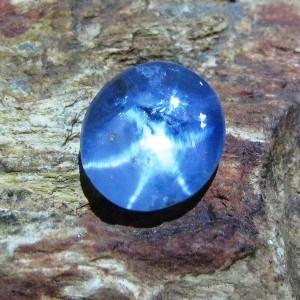 Light Blue Star Sapphire 3.34 carat