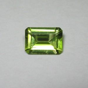 Rectangular Peridot Natural 0.82 carat