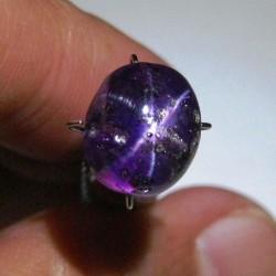 Purple Star Sapphire 8.09 carat
