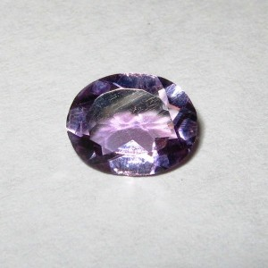 Batu Mulia Oval Medium Violet Amethyst 1.30 carat