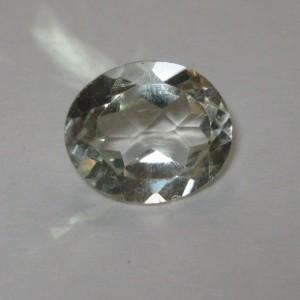 Green Amethyst Oval 3.95 carat