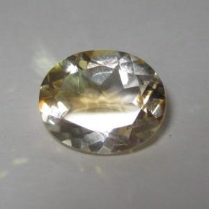 Batu Permata Citrine Oval 3.00 carat Luster Terang