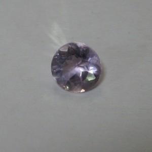 Light Purple Round Amethyst 0.55 carat