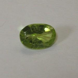 Batu Permata Oval Natural Peridot 0.75 carat