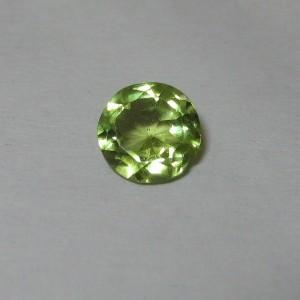 Batu Mulia Natural Peridot Round 5mm 0.70 carat