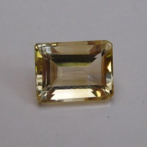 Natural Octagon Quartz 2ct.