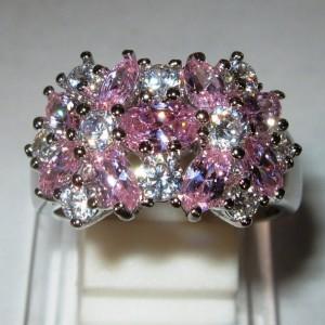 Cincin Pink Bucket Ring 9US