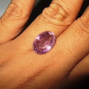Amethyst Medium Purple 6.75 carat