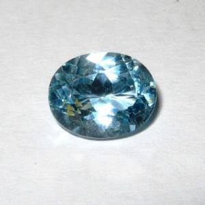 Batu Permata Sky Blue Topaz Oval 3.55 carat