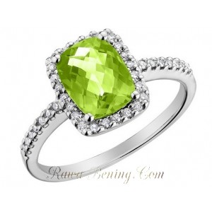 Peridot Cushion 1.29 carat
